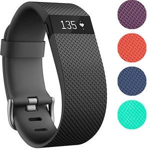 Fitbit Charge HR Activity, Heart Rate + Sleep Wristband (Small and Large)