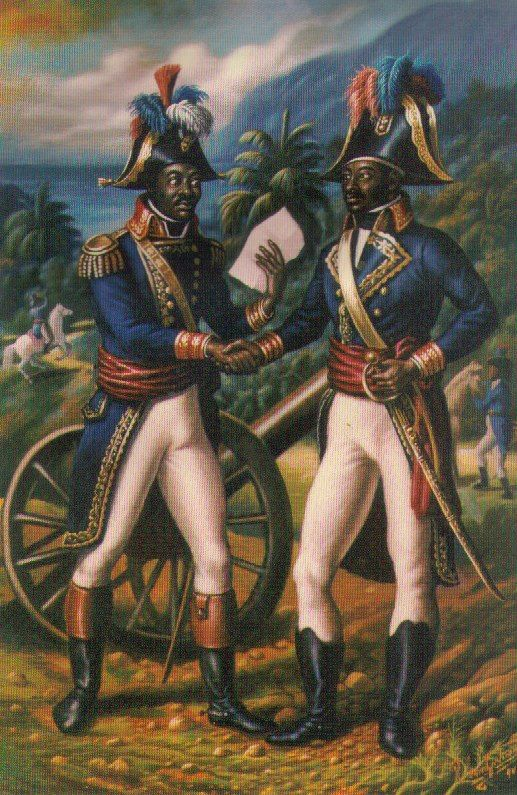 "Haiti, known as the ""jewel of the islands"", was the first independent nation of Latin America and the Caribbean, the first black-led republic in the world, and the second republic in the Americas when it gained independence in 1804 as part of a successful slave revolution lasting nearly a decade. Our Heroes Toussaint Louverture and Jean Jacques Dessaline."