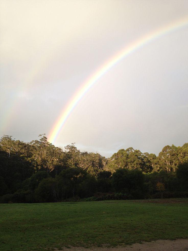 Rainbow over the Warren National Park @ Marima