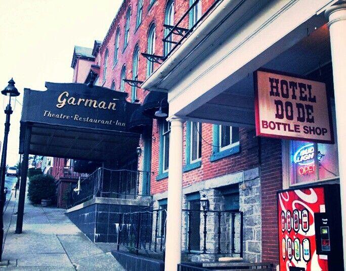 My Last Photo Of The Garman Theatre Hotel Do De