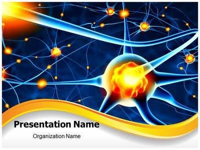 great looking powerpoint templates - neuron ppt template for medical professionals create
