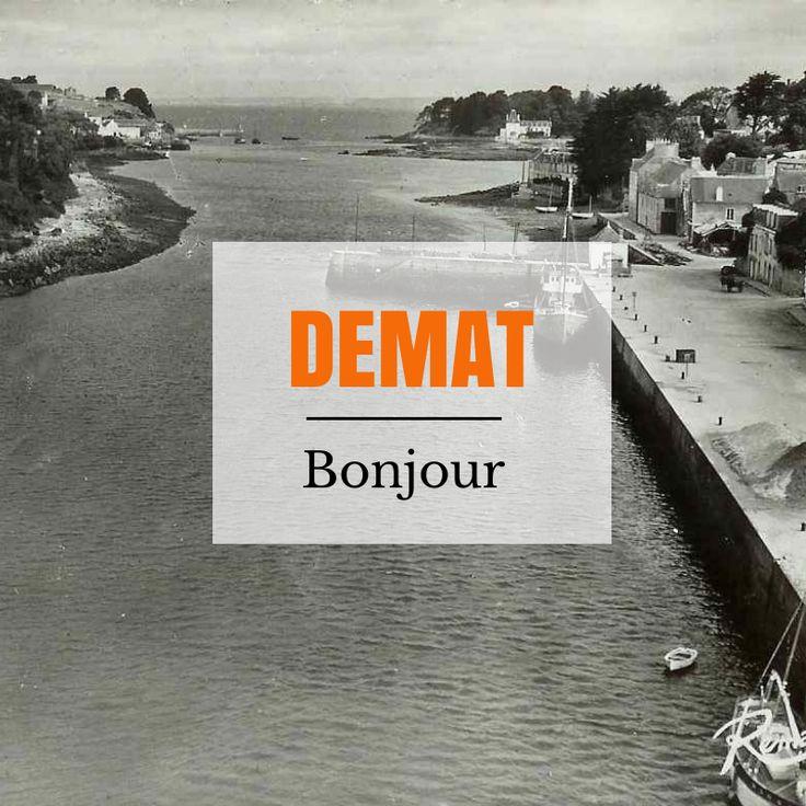 Bonjour à tous ! #breizhwords #breizh #bretagne #bzh #breton #brittany  #finistère #portrhu #île #îletristan #tristan #douarnenez #dz #pennsardin #tréboul