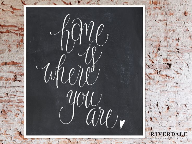 Home is where you are | www.riverdale.nl