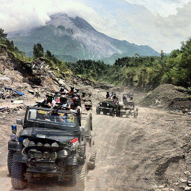 Jeep Tour - Merapi Lava Tour. Unforgettable experience!