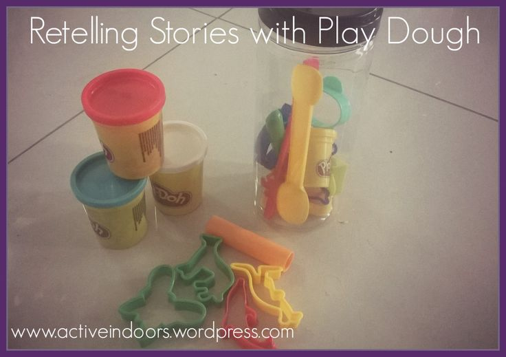Retelling Stories with Play Dough