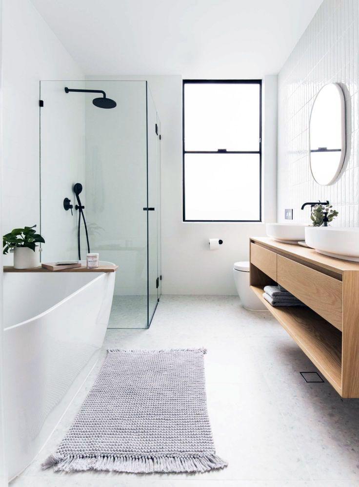 42 Astonishing Minimalist Bathroom Ideas For Scandinavian Home In 2020 Minimalist Bathroom Scandinavian Bathroom Bathroom Inspiration