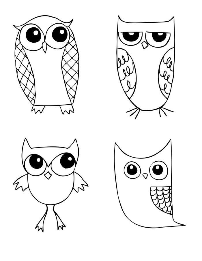 OWLStravaganza Pattern for Hand Embroidery por americanduchess, $8,99