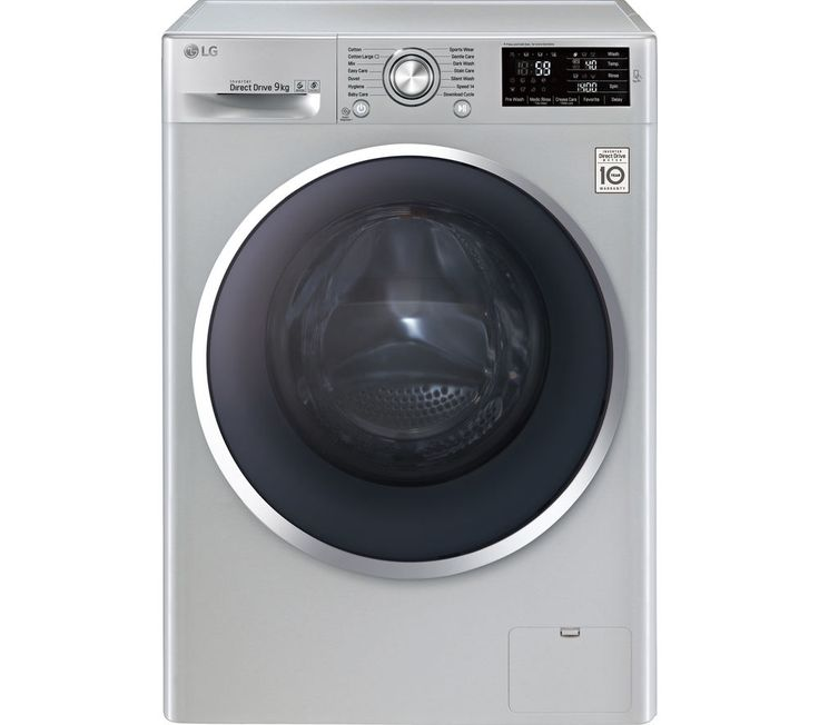LG FH4U2VCN4 Washing Machine - Silver