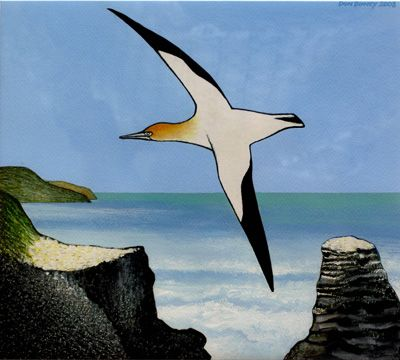 Muriwai Takapu 1 by Don Binney 2008