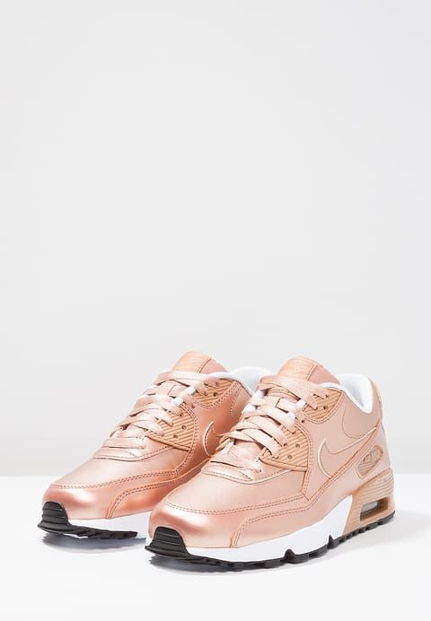 Chaussures Nike Sportswear AIR MAX 90 SE - Baskets basses - metallic red  bronze or rose
