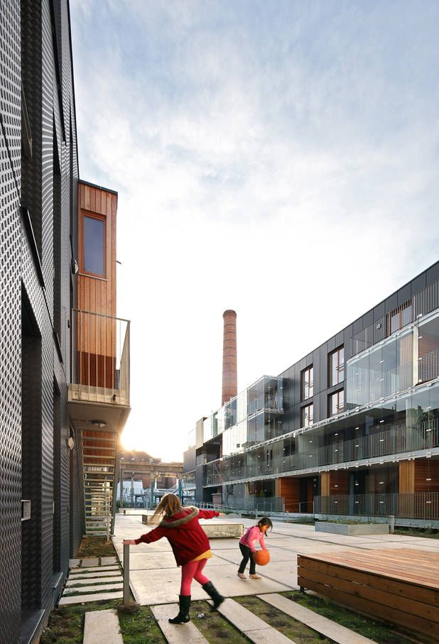 Social Housing Savonnerie Heymans / MDW Architecture