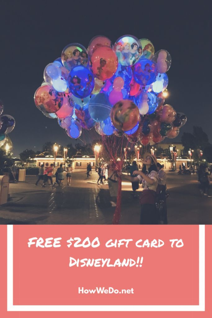 Apply for this Disney Rewards Visa Card through our link and earn a $200 Disney gift card! #disney #disneyland #freegiftcard
