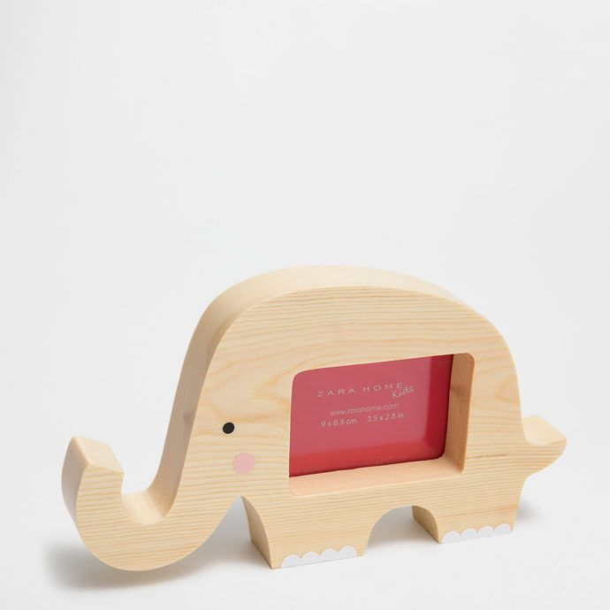 ELEPHANT-SHAPED WOODEN // Zara Home Kids