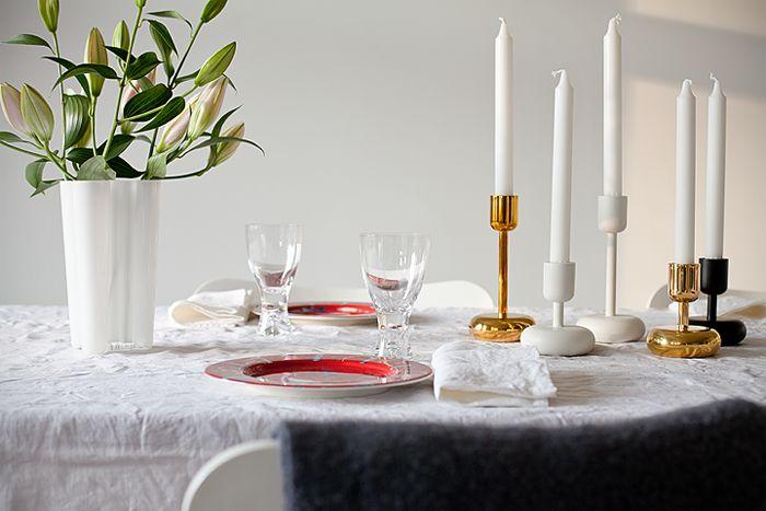 Muoti mielessä, Iittala, table setting