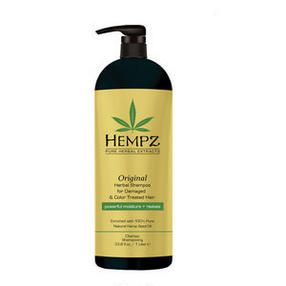 Hempz Original Herbal Shampoo For Damaged & Color Treated Hair #bbLiterSale #coloredhair