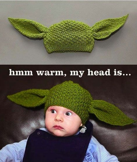 The force will be with this one.: Yoda Hats, Kids Stuff, Future Children, Baby Wear, Future Kiddo, Baby Need, My Children, Future Baby, Baby Hats