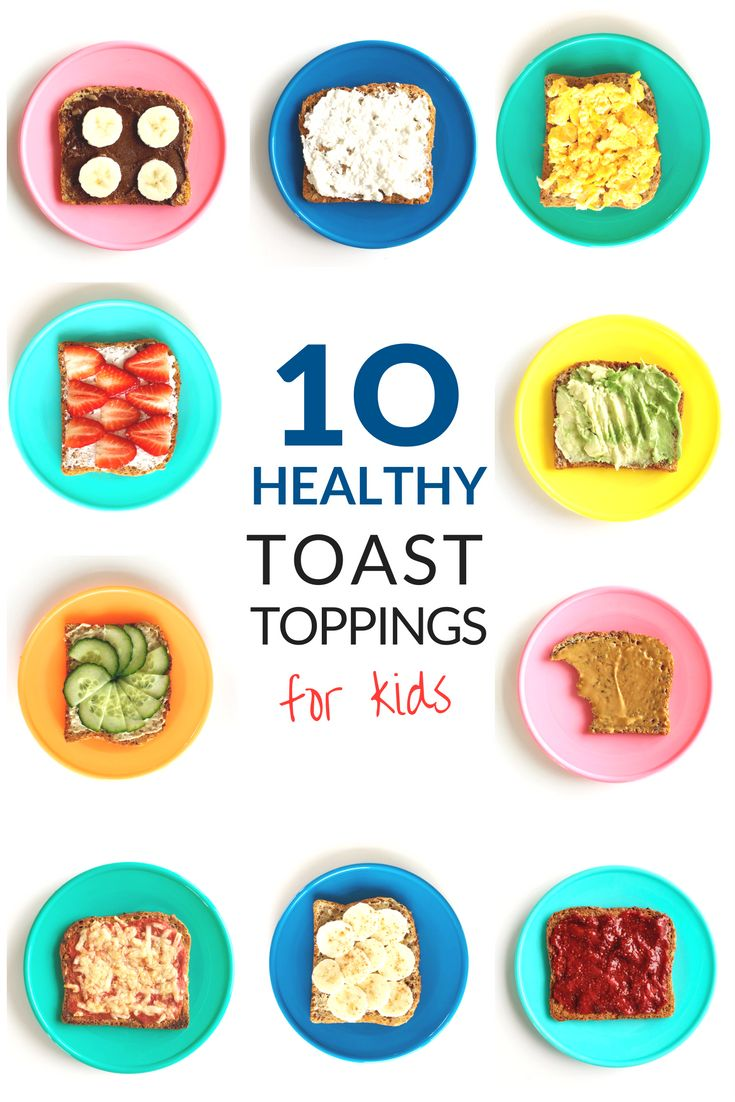Healthy Breakfasts For Children: Ten of the best healthy low sugar toast toppings your kids will love