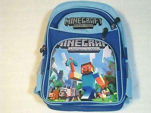 minecraft backpacks for kids | NEW-Large-Kids-Boys-Minecraft-Backpack-Bag-Children-Shoulder-School ...