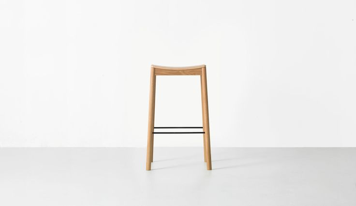Tangerine Stool by Simon James for Resident