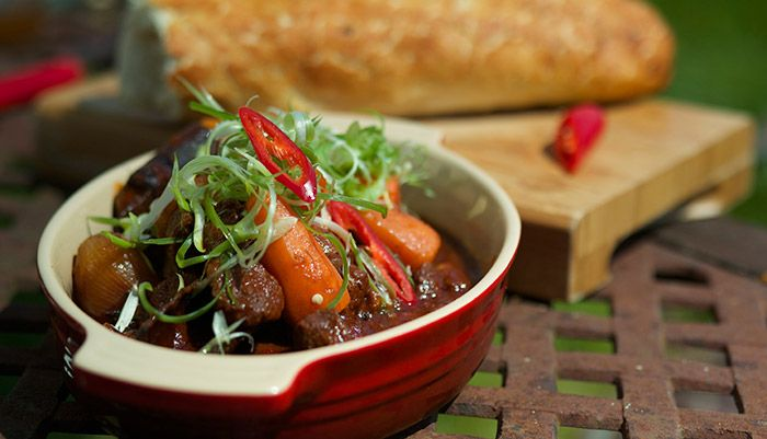 Slow Braised Buffalo in Aromatic Spices http://gustotv.com/recipes/lunch/slow-braised-buffalo-in-aromatic-spices/
