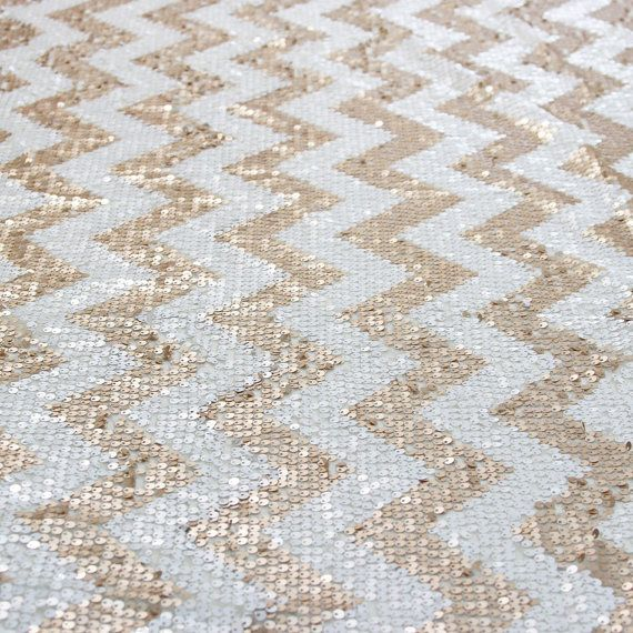 6FT Sequin Chevron Table Cloth Chevron Sequin by SparkleSoiree, $199.00