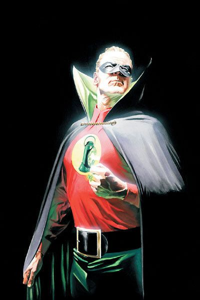 Alan Scott: The original Green Lantern, and the man with the bitchinest collar of all time.
