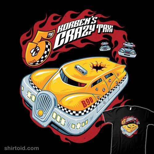 Korben's Crazy Taxi #film #korbendallas #movie #nemons #scifi #taxi #thefifthelement