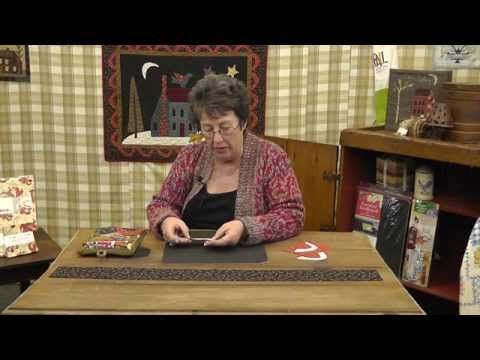 How to Applique with Jan Patek Quilts- Scalloped Borders - YouTube