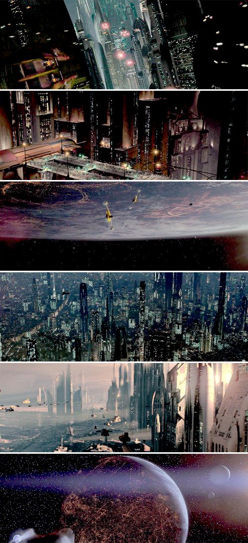 Star Wars: Coruscant. The entire planet is one big city.