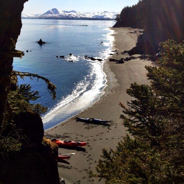 Woody Island, Kodiak Island Borough, Alaska — by John Cannon. Surreal day