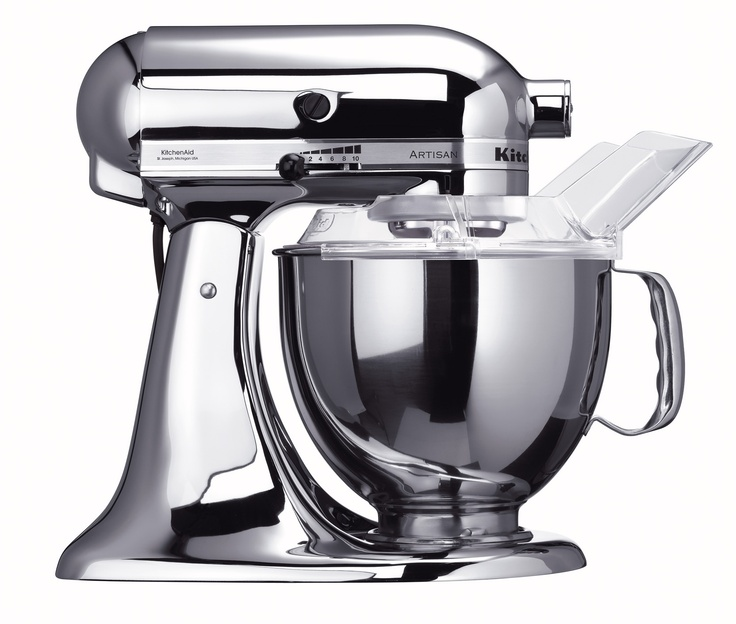 Kitchenaid Chrome: KitchenAid KSM152PSCR Custom Metallic Series 5-Quart Mixer, Chrome