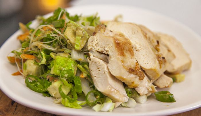 Summer Chicken Avocado Salad - Good Chef Bad Chef