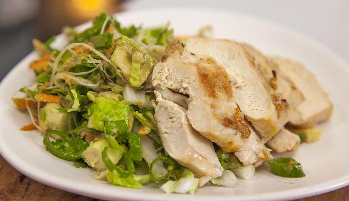 Summer Chicken Avocado Salad - Good Chef Bad Chef