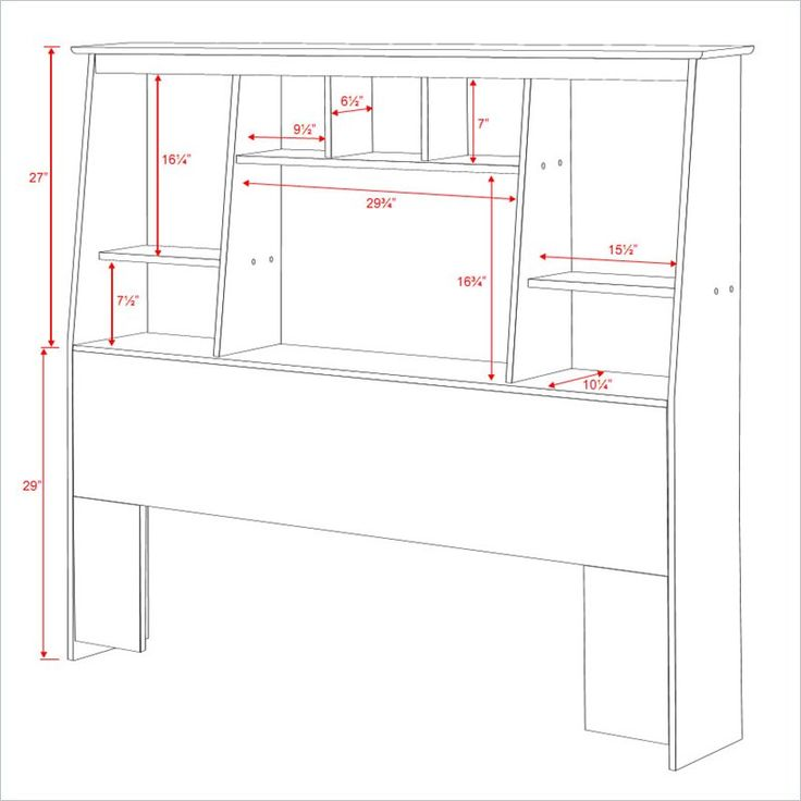 13 best images about for bedroom on pinterest twin for Free headboard plans