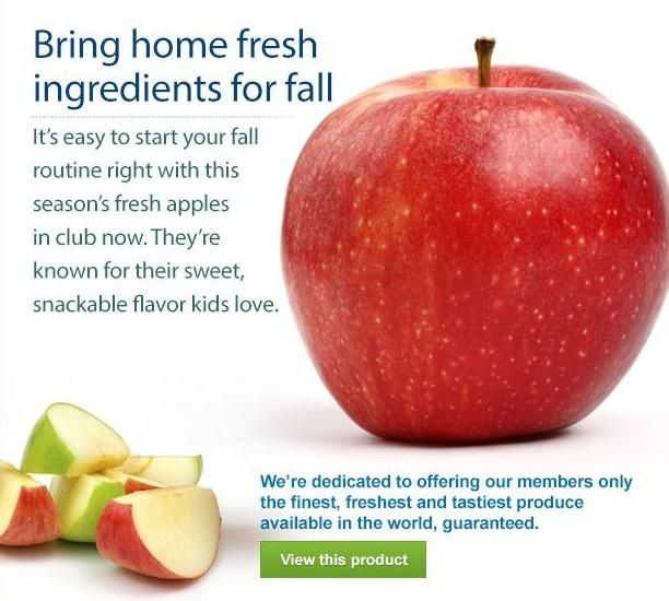 Apples Are In Season And Are Great To Snack On. Meal RecipesEat HealthyHealthy  LivingHealthy ChoicesSeasonsApplesProducts