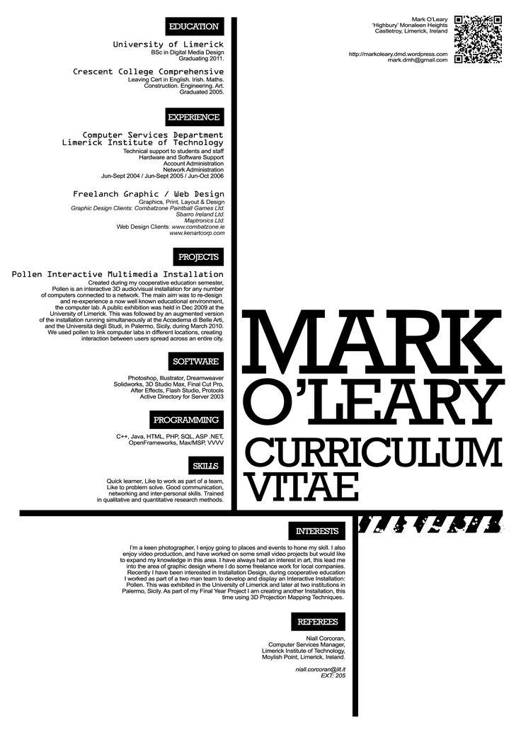 1000+ ideas about Formato De Curriculum Vitae on Pinterest ...