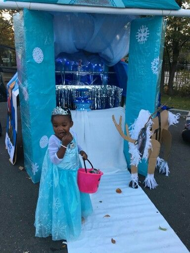 Frozen Theme Trunk Or Treat Trunk Or Treat Trunk Or