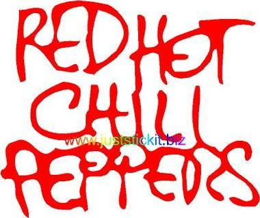3888a-A-100 ( Red Hot Chili Peppers - Band - Logo )