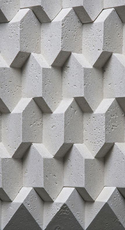 Trifaces - Concrete. — Giovanni Barbieri