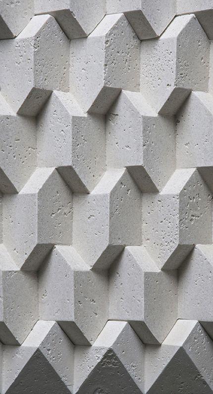 Trifaces - Concrete. — Giovanni Barbieri