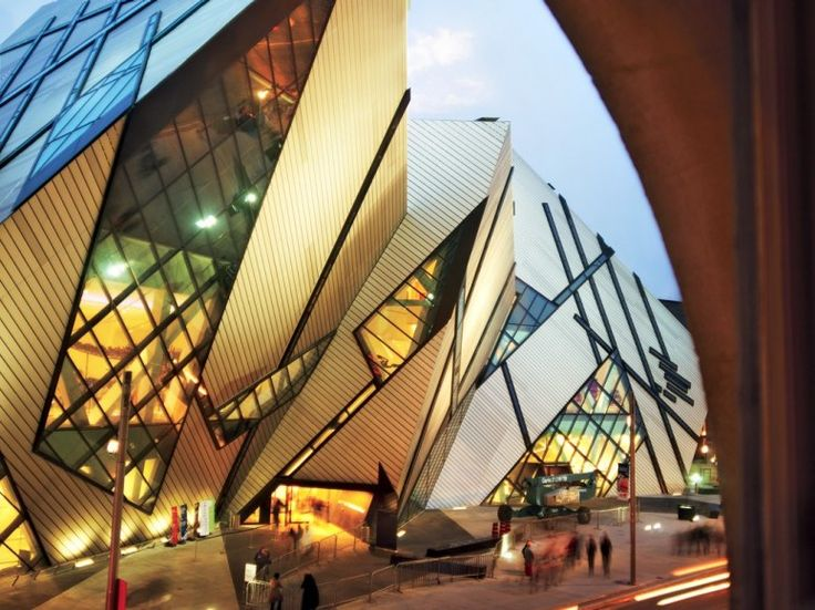 source:Room With a View : Condé Nast Traveler      Bldg: Royal Ontario Museum Toronto, Canada  Architect: Daniel Libeskind