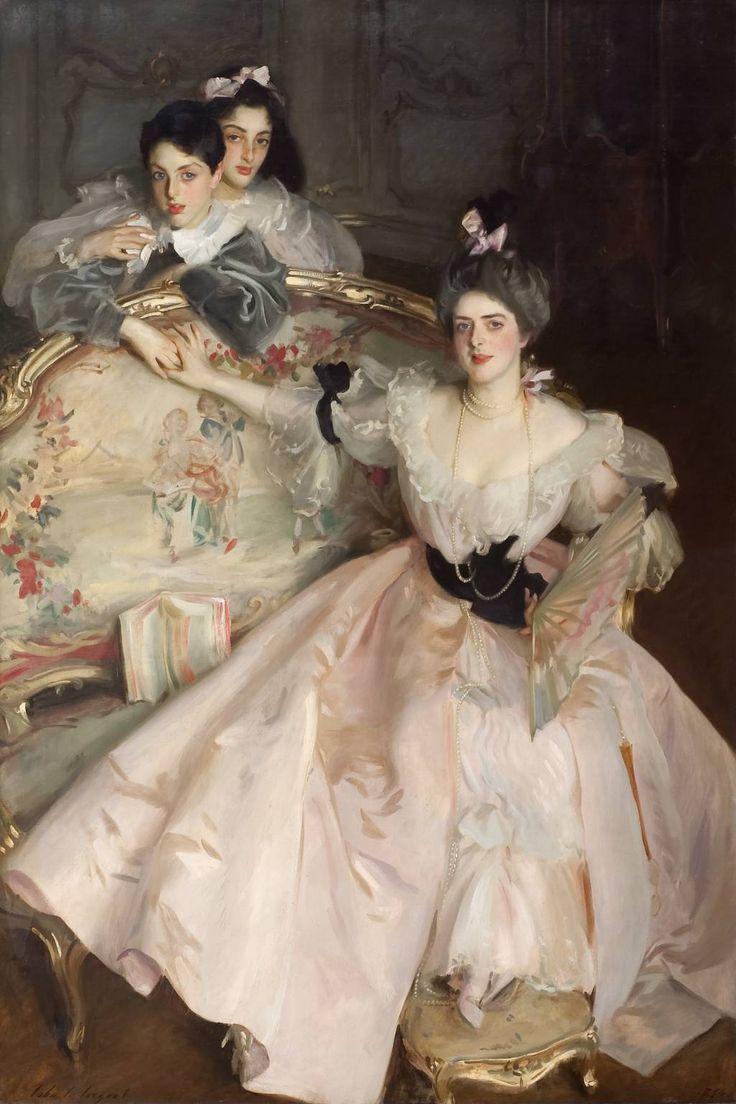 Mrs Carl Meyer and her Children / John Singer Sargent / 1896 / oil on canvas