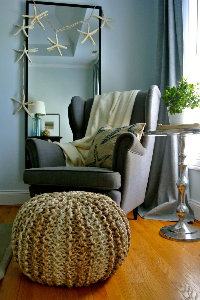 ottoman for living room%0A how to make a pouf
