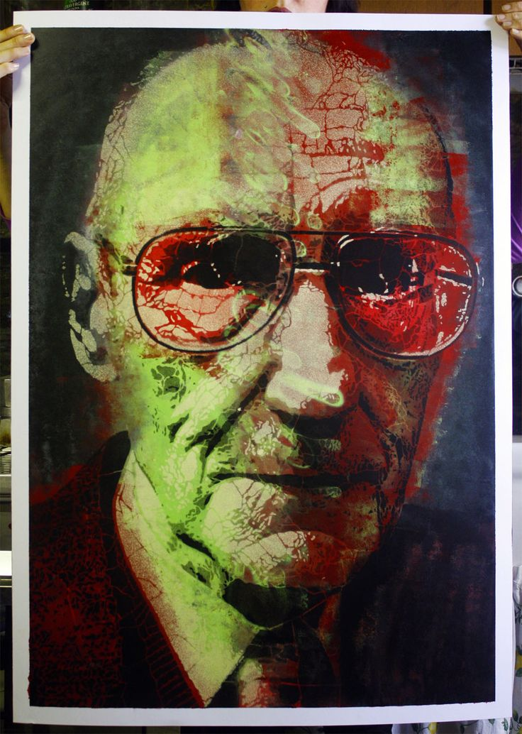 2012 | Williams Burroughs | portfolio of 15 original on paper, size 70x100 | 1/15