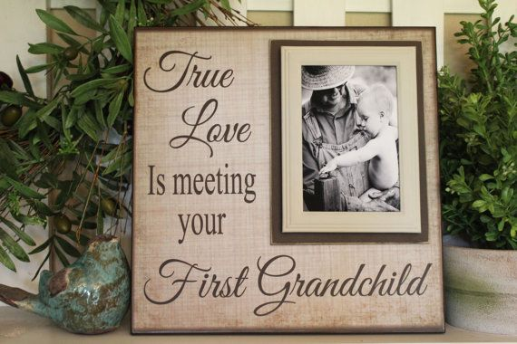 New Grandparent Gift Picture Frame For By Memoryscapes On