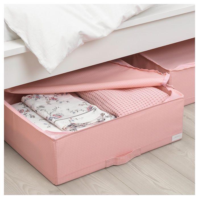 "STUK Storage case, pink, 21 ¾x20x7"" - IKEA   Rangement sac, Rangement rose, Stockage de sacs à main"