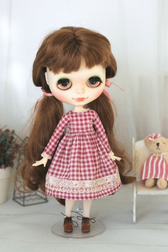 Dress for  Blythe / Azone pure neemo M/S / Momoko от ElenaShowRoom