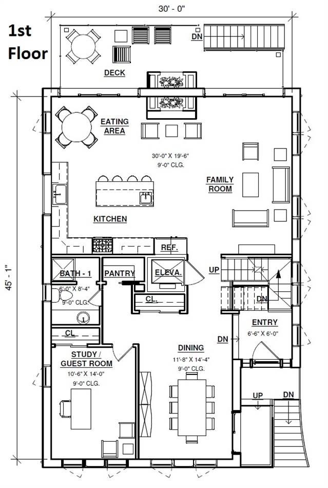 Contemporary Beach Home 3 Story Narrow Lot House Plan Beach House Plans Narrow Lot House Plans Narrow Lot House