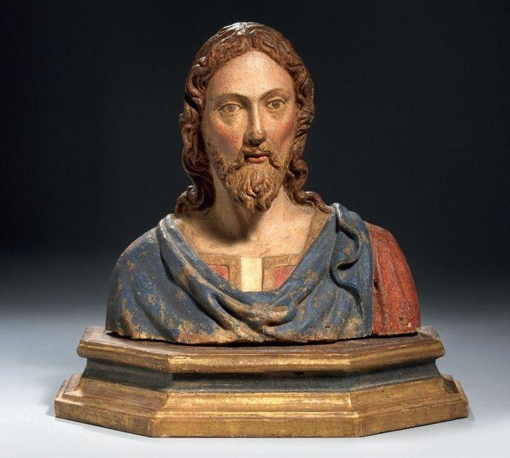Leonardo del Tasso  BUSTO DI CRISTO Firenze 1466 - (1500)