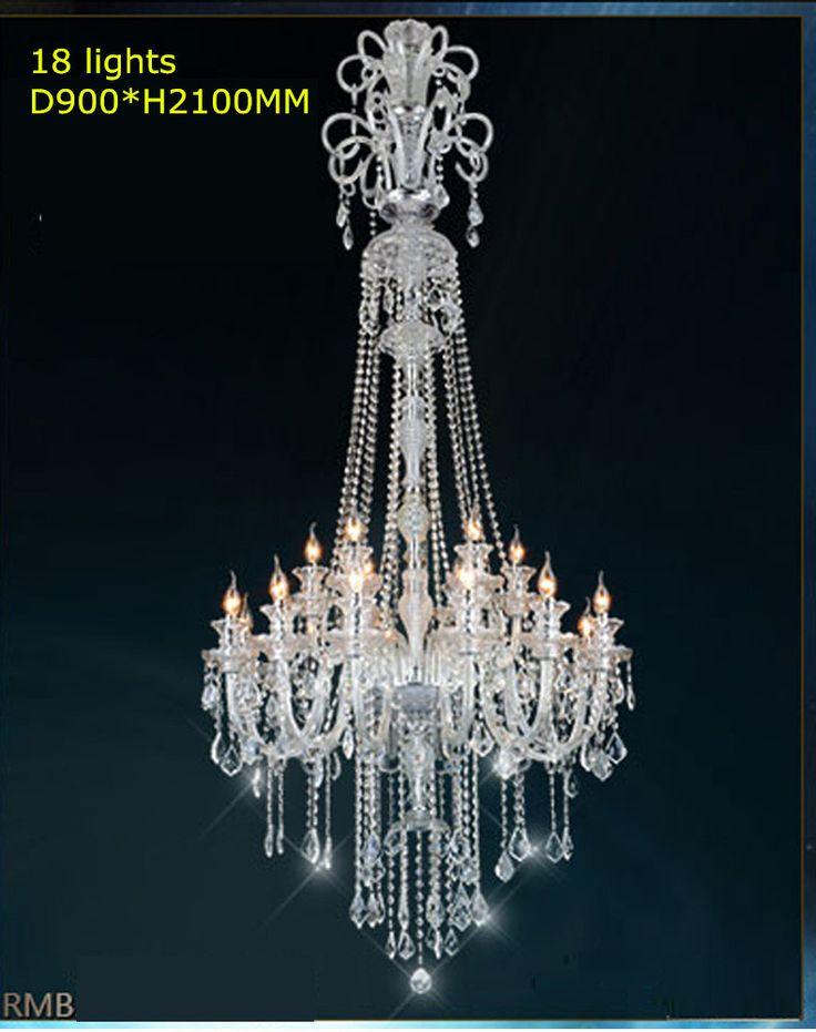 Big chandelier luxury crystal chandeliers lustres de